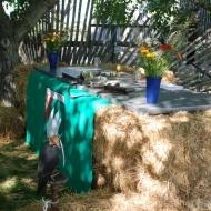 Der Altar für die Feldmesse