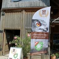 Jubiläumsfeier des österreichischen Falknerordens am Biohof Adamah