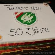 Die Geburtstagstorte für den österreichischen Falknerorden