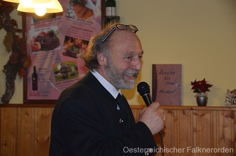 Heinz erzählt uns Interessantes über den neuen Kalender des ÖFO