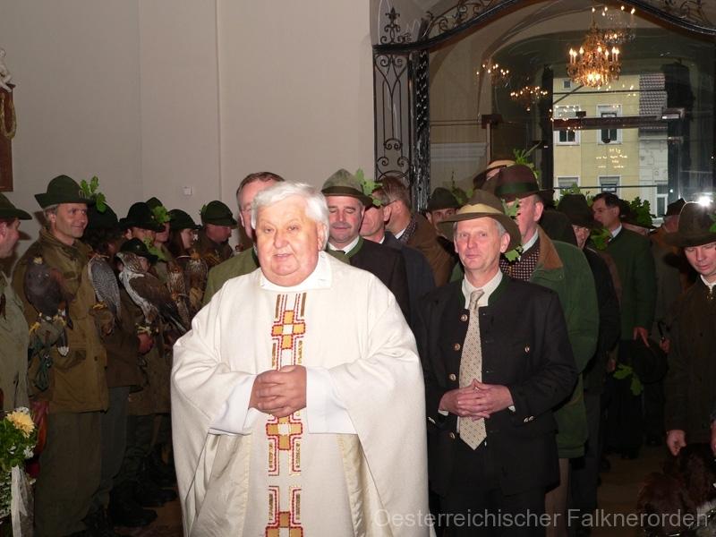 Einzug zur Messe