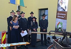 ÖFO bei der Eröffnungsfeier Eggendorf am Wagram