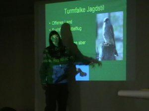 Präsentation über Greifvogelkunde und Beizjagd